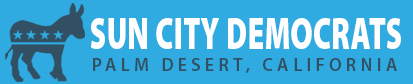 Sun City Palm Desert Democrats Logo