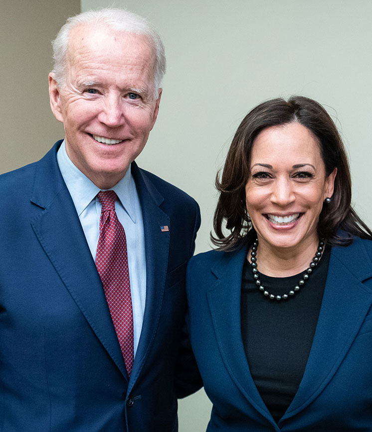 President Elect Joe Biden and Vice President Elect Kamala Harric
